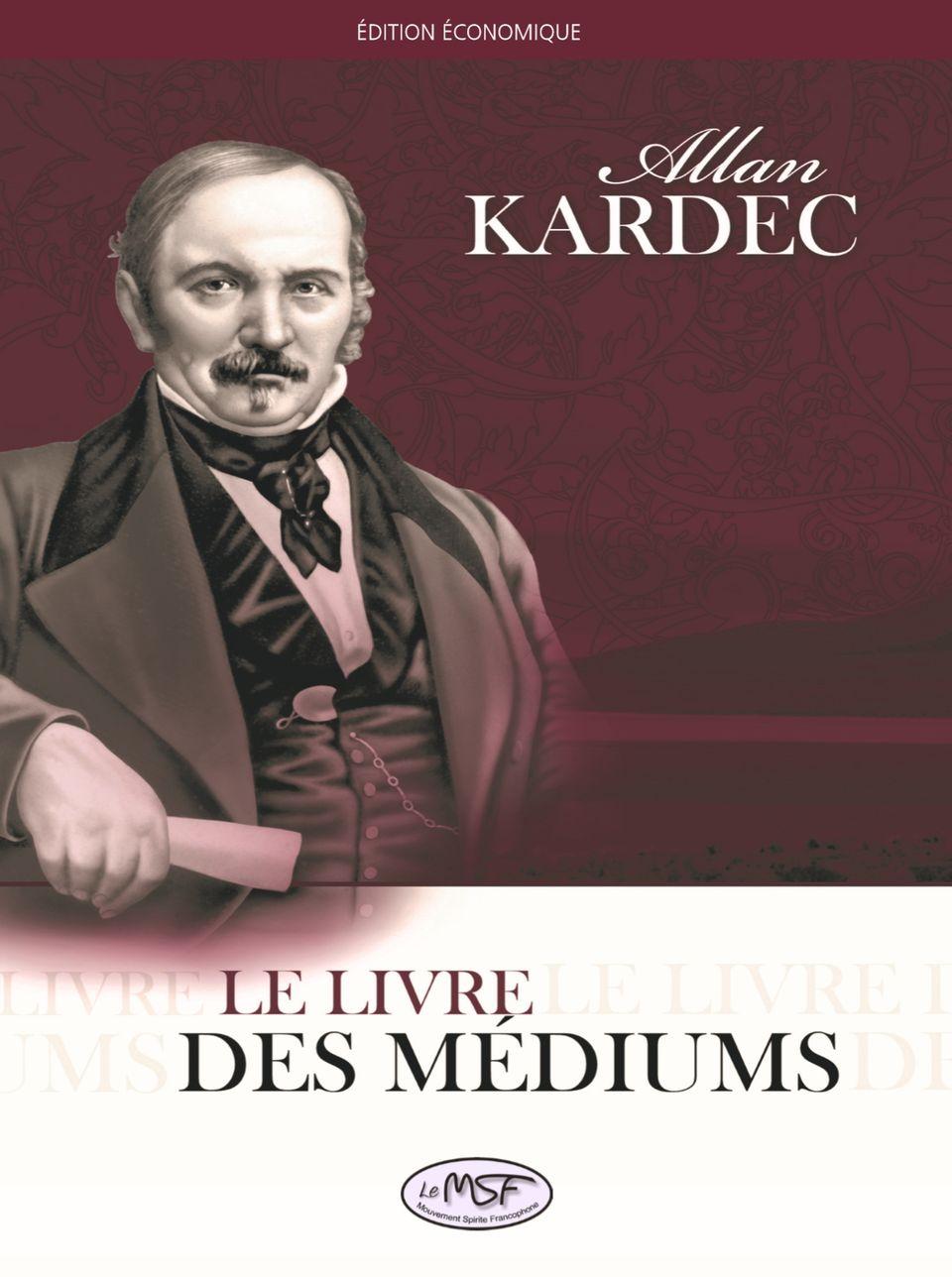 Le livre des médiums - couverture