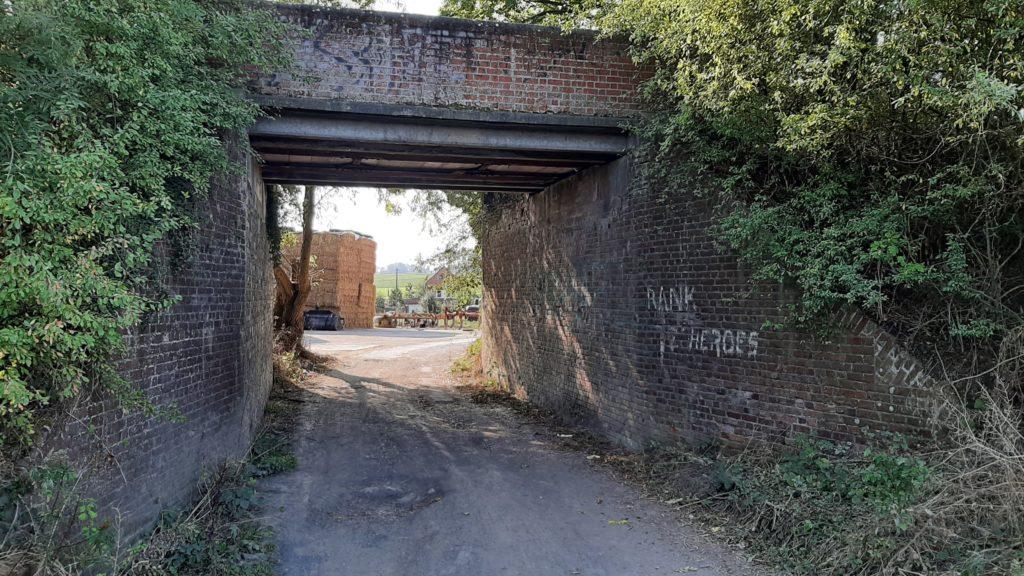 La balade des Hameaux - Le pont de la vieille ligne