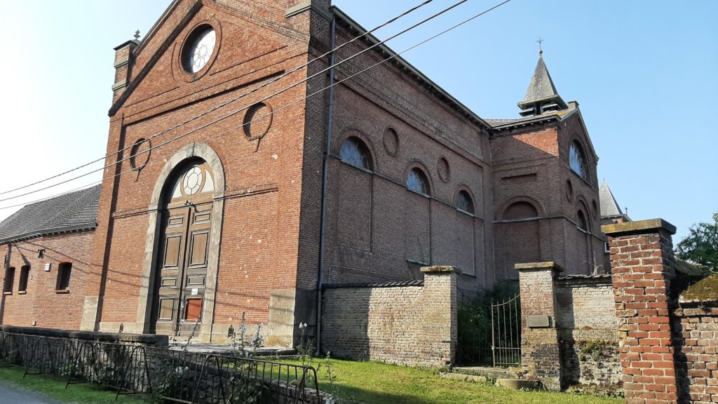 La balade des Hameaux - Eglise des moines passionistes